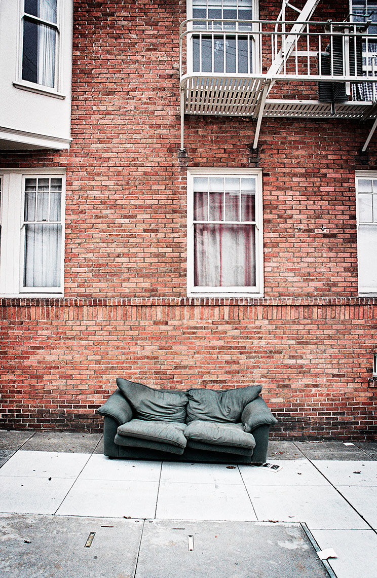 To The Curb - Black Couch