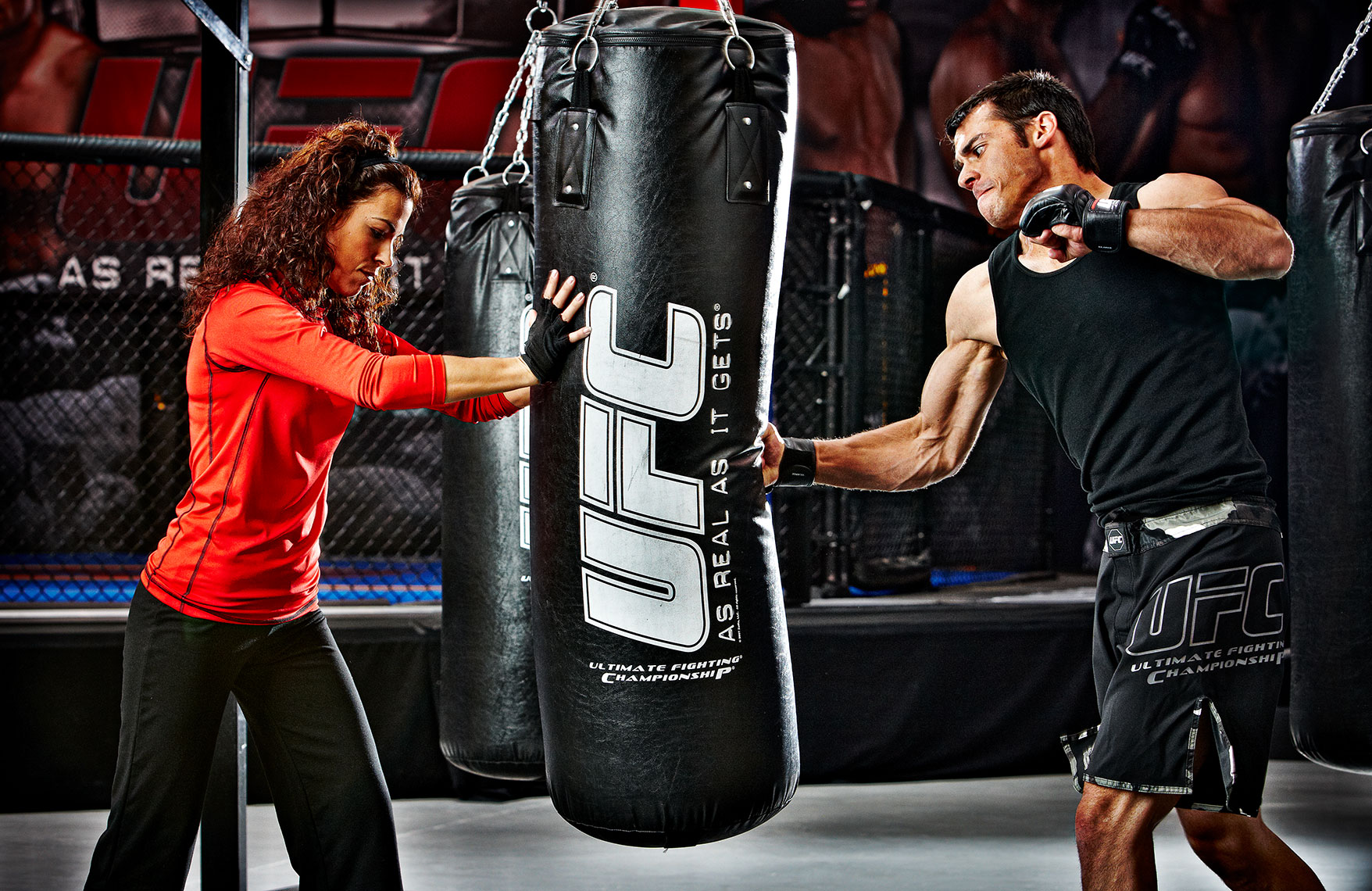 UFC Gyms - Heavy Bag