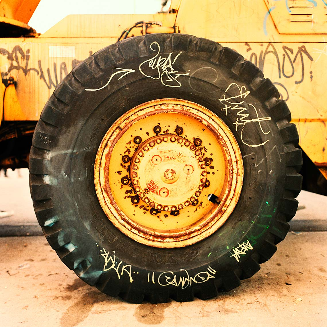 What I Seen - Graffiti Tractor