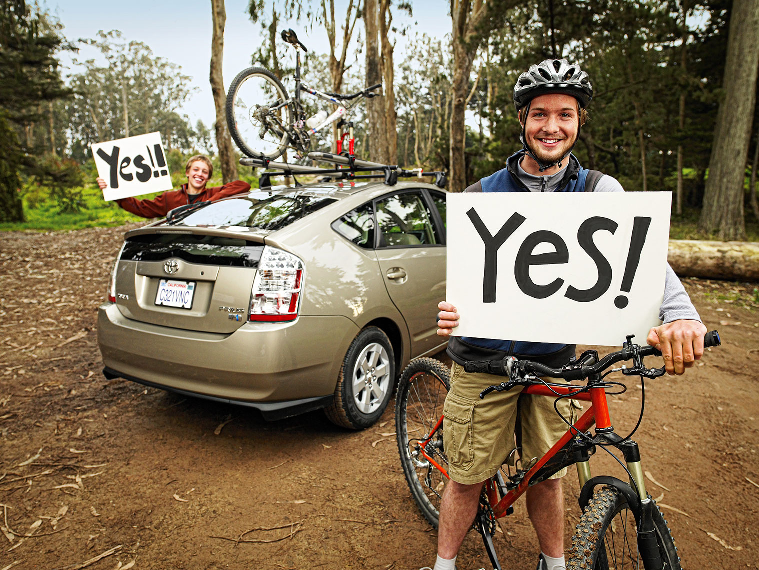 Toyota Prius - Mountain Bikers