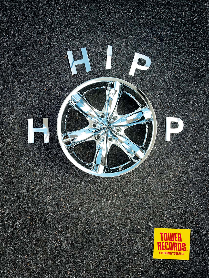 Tower Records - Hip Hop Wheel